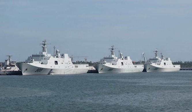 Trung Quốc ráo riết tăng cường tác chiến đổ bộ nhằm mục đích gì ảnh 1