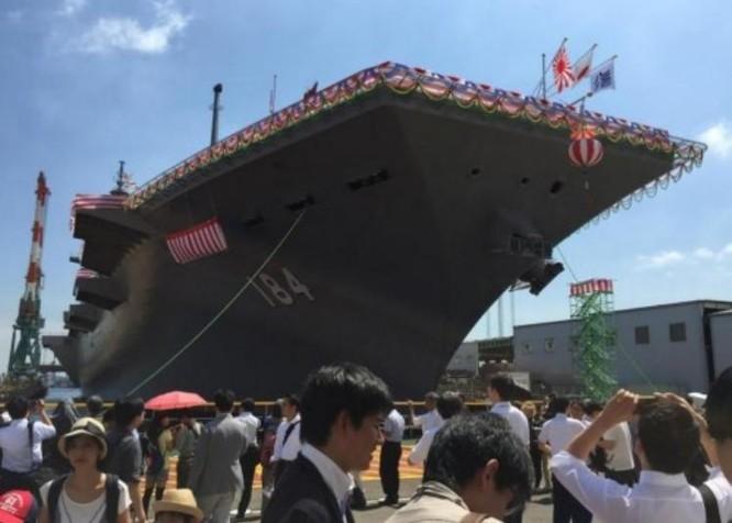 """Biển Đông: Tàu sân bay Nhật tiếp tục tuần tra, báo Trung Quốc đe dọa """"báo thù"""" ảnh 2"""