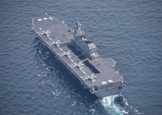 """Biển Đông: Tàu sân bay Nhật tiếp tục tuần tra, báo Trung Quốc đe dọa """"báo thù"""" ảnh 1"""