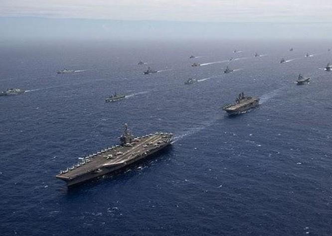 Biển Đông: Mỹ-phương Tây rắn mặt chặn Trung Quốc, kỷ lục chiến hạm, máy bay tuần tra ảnh 2