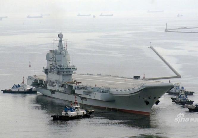 Tàu sân bay Trung Quốc tự chế hoàn thành chạy thử lần hai ảnh 2