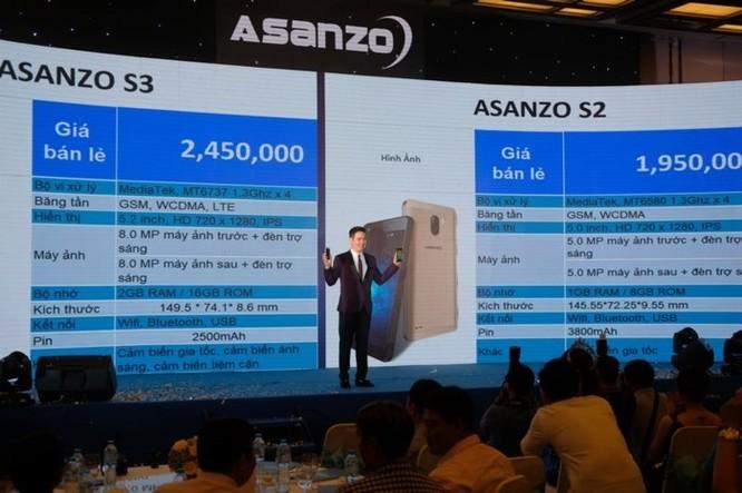 Asanzo ra hai smartphone mới, kỳ vọng kiếm được 2.400 tỷ năm 2018 - Ảnh 1