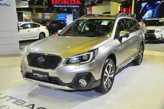 Subaru Outback 2018 có giá bán chính thức 1,4 tỷ đồng - Ảnh 1
