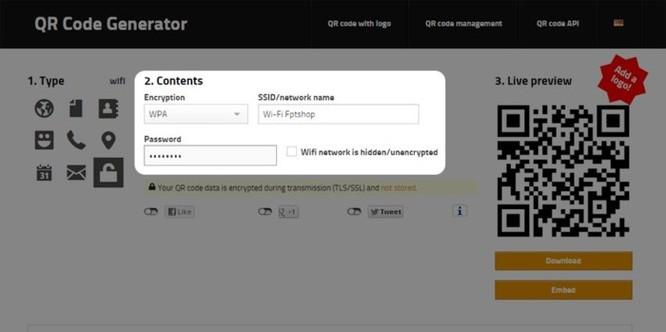 Hướng dẫn chia sẻ mật khẩu Wi-Fi bằng QR Code - Ảnh 1