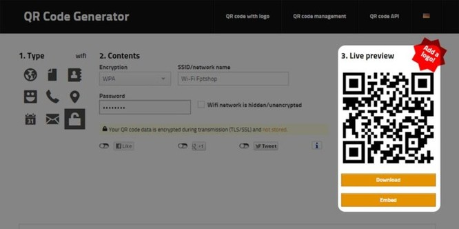 Hướng dẫn chia sẻ mật khẩu Wi-Fi bằng QR Code - Ảnh 2
