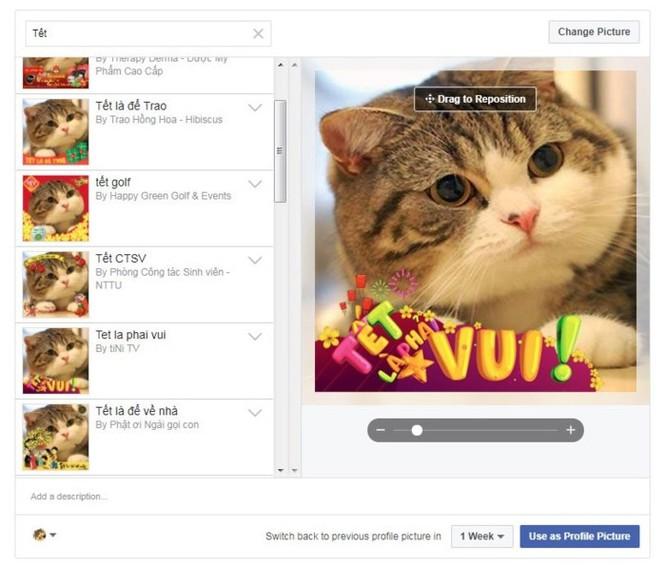 Tết Mậu Tuất thay avatar Facebook bằng từ khóa nào? - Ảnh 1