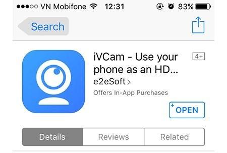 Hướng dẫn biến iPhone thành webcam của laptop - Ảnh 4
