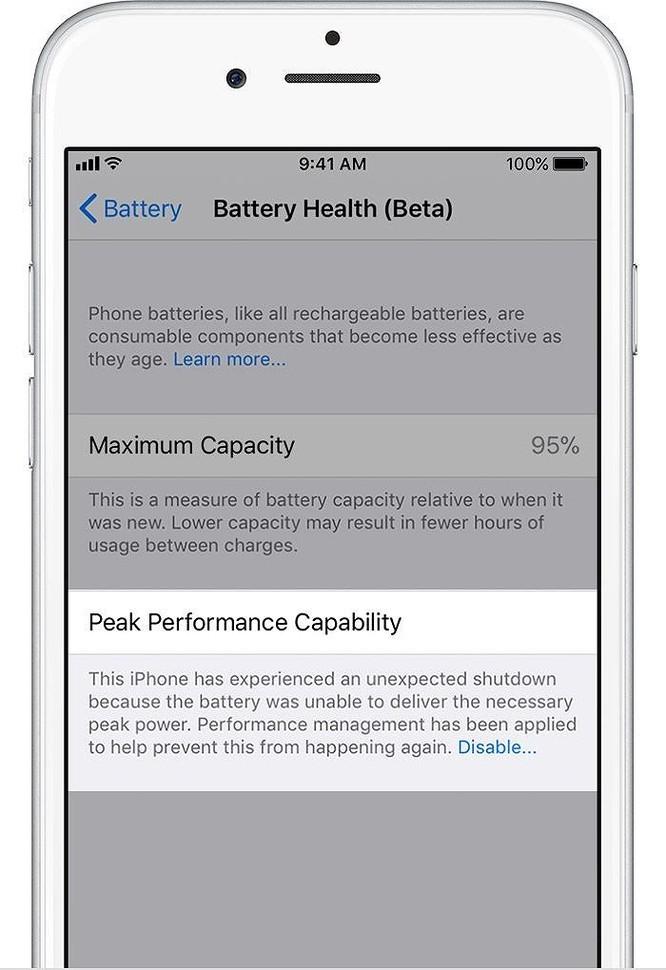 Cách tắt tính năng làm chậm iPhone - Ảnh 5