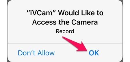 Hướng dẫn biến iPhone thành webcam của laptop - Ảnh 5
