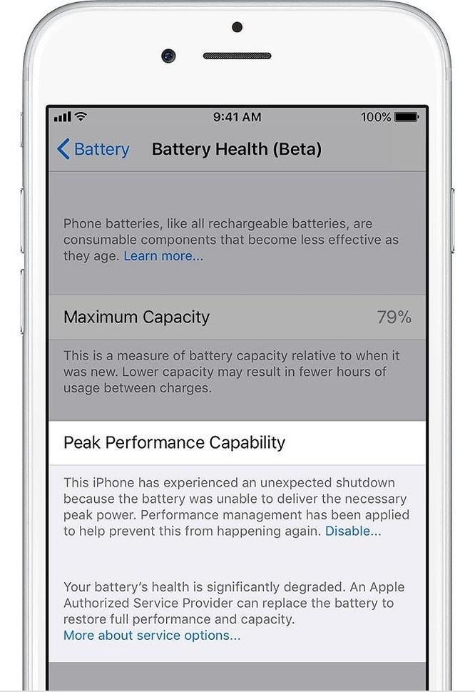 Cách tắt tính năng làm chậm iPhone - Ảnh 6