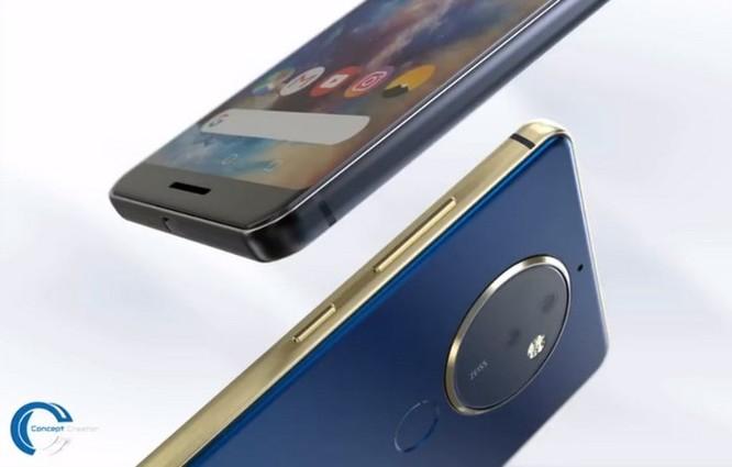 Ngắm ý tưởng Nokia 10 với thiết kế mặt lưng kính, màn hình 18:9 và 4 camera - Ảnh 10