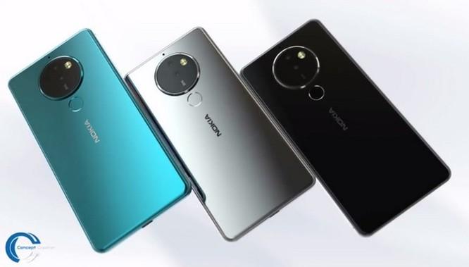 Ngắm ý tưởng Nokia 10 với thiết kế mặt lưng kính, màn hình 18:9 và 4 camera - Ảnh 11