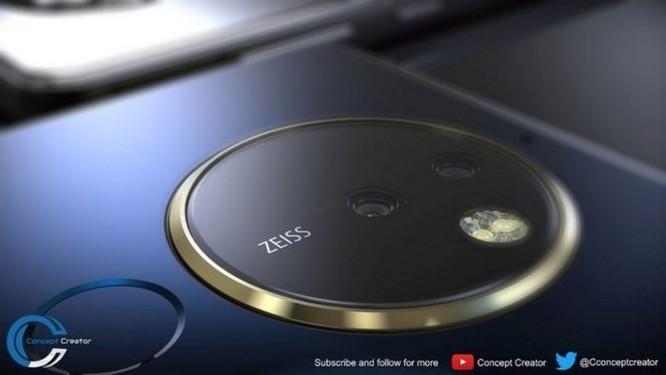 Ngắm ý tưởng Nokia 10 với thiết kế mặt lưng kính, màn hình 18:9 và 4 camera - Ảnh 2