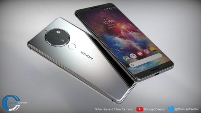 Ngắm ý tưởng Nokia 10 với thiết kế mặt lưng kính, màn hình 18:9 và 4 camera - Ảnh 5