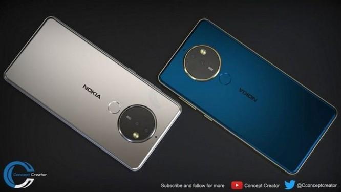 Ngắm ý tưởng Nokia 10 với thiết kế mặt lưng kính, màn hình 18:9 và 4 camera - Ảnh 6