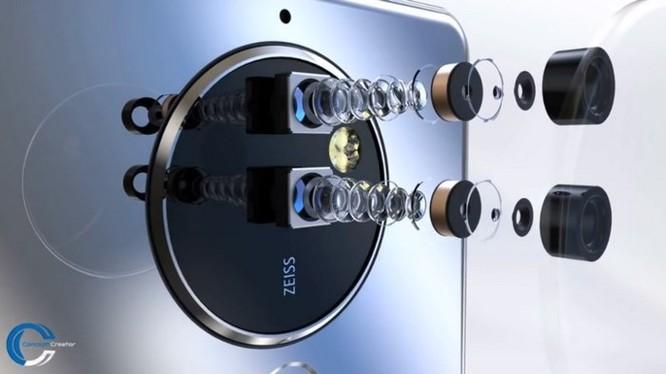 Ngắm ý tưởng Nokia 10 với thiết kế mặt lưng kính, màn hình 18:9 và 4 camera - Ảnh 7
