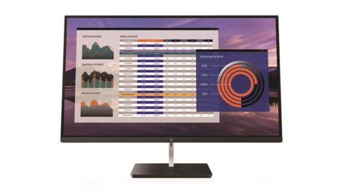 HP giới thiệu loạt màn hình 4K dùng kết nối USB-C - Ảnh 1