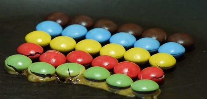 Cận cảnh màn tái hiện những viên kẹo tan chảy trở lại hình dạng cũ đầy lôi cuốn - Ảnh 2