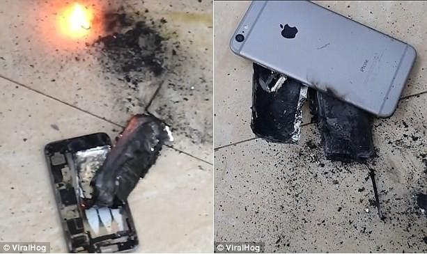 Một chiếc iPhone bất ngờ phát nổ ngay trong tiệm salon tại Việt Nam - Ảnh 2
