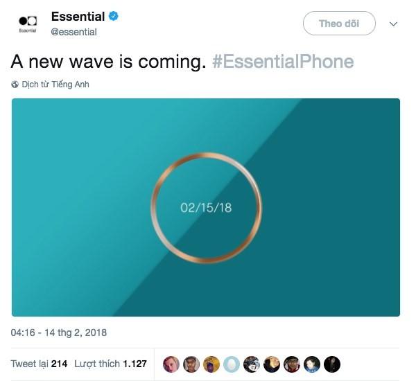 Essential tổ chức sự kiện ngày 15/2, sẽ ra smartphone mới? - Ảnh 2