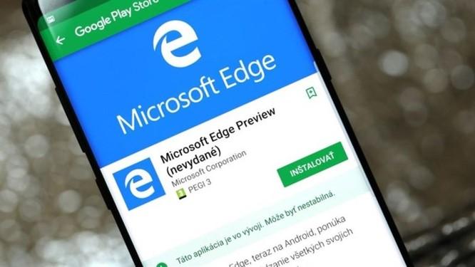 Microsoft Edge cho Android được cập nhật nhiều tính năng mới - Ảnh 1