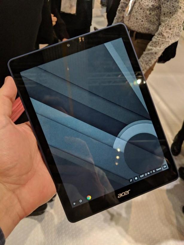 Sau laptop, Google tiếp tục thử nghiệm ChromeOS trên tablet - Ảnh 2