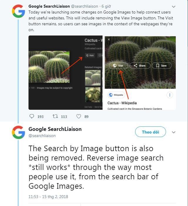Để ngăn chặn người dùng 'chôm' ảnh vô tội vạ, Google đành hy sinh một nút bấm tiện lợi trên Google Search - Ảnh 2