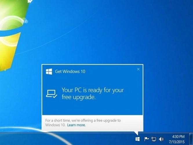 Người dùng kiện Microsoft 600 triệu USD vì máy tính bị lén lút nâng cấp lên Windows 10 - Ảnh 2