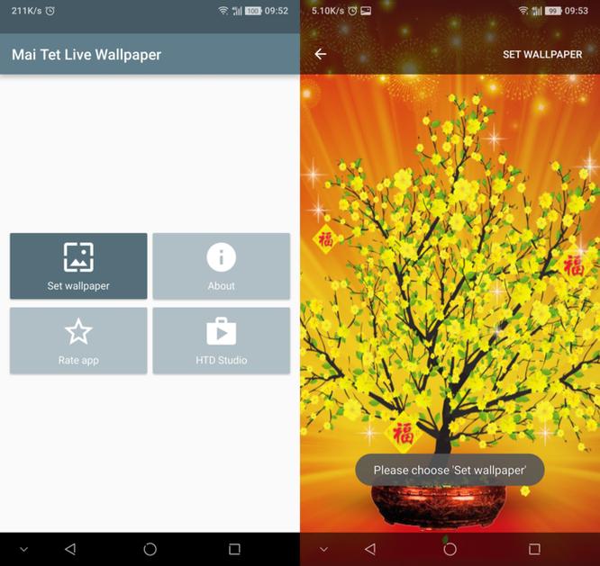 2 cách mang không khí Tết lên smartphone - Ảnh 2