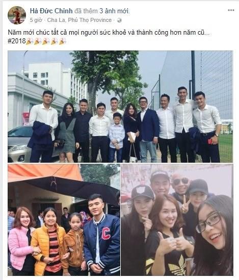 Mùng 1 Tết, dàn sao U23 Việt Nam chúc gì trên Facebook? - Ảnh 3