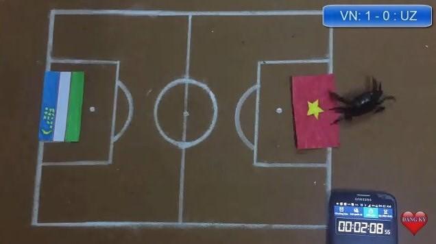 Dân mạng nhờ mèo, gà, cào cào dự đoán trận chung kết của U23 Việt Nam - Ảnh 6