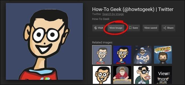 Mang nút 'View Image' trở lại Google Image Search - Ảnh 1