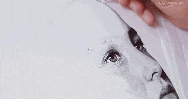 Họa sĩ vẽ ảnh chân dung như máy in phun: 12 ngày công và 3 triệu dấu chấm - Ảnh 1