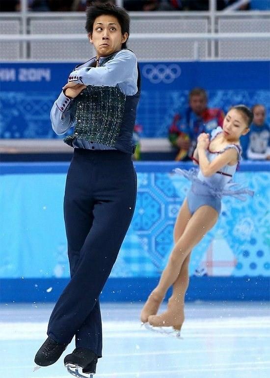 Cười đau ruột với những khoảnh khắc của vận động viên trượt băng nghệ thuật - Ảnh 22