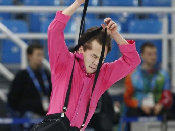 Cười đau ruột với những khoảnh khắc của vận động viên trượt băng nghệ thuật - Ảnh 4