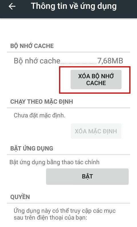 Xóa cache ứng dụng và xóa dữ liệu ứng dụng: Đâu là điểm khác biệt? - Ảnh 8
