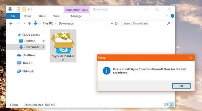 Skype bản desktop sắp 'về hưu' do gặp lỗi cài đặt - Ảnh 2