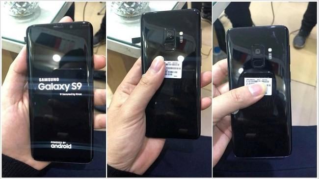 Xuất hiên hình ảnh Galaxy S9 'bằng xương bằng thịt' đầu tiên - Ảnh 1