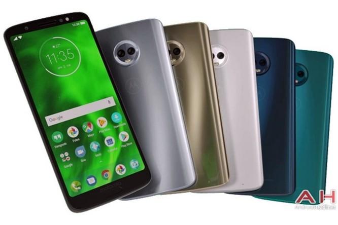 Motorola Moto G6 Plus rò rỉ ảnh dựng đầy đủ tùy chọn màu sắc - Ảnh 1