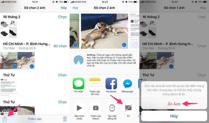 2 cách ẩn hình ảnh và video riêng tư trên iPhone - Ảnh 2