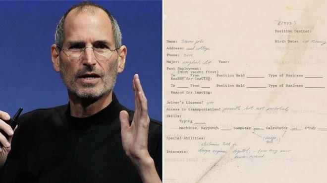 Đơn xin việc năm 1973 của Steve Jobs được rao bán 50.000 USD - Ảnh 1