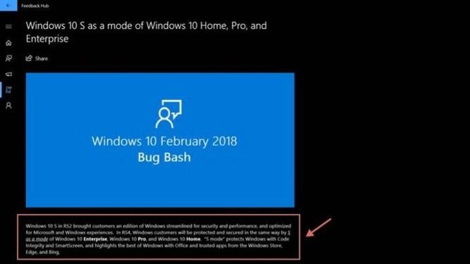 Tại sao Microsoft quyết định biến Windows 10 S thành một chế độ riêng biệt? - Ảnh 2