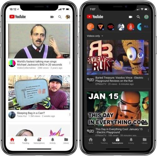 Cách bật chế độ màu tối của YouTube trên các thiết bị iOS - Ảnh 4