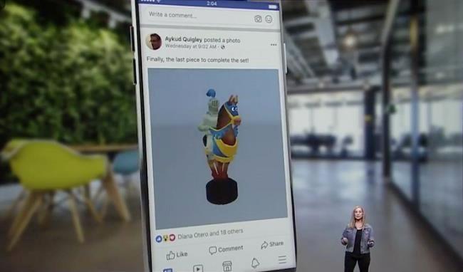 Facebook nâng cấp News Feed cho phép đăng tải các hình ảnh 3D, thực tế ảo VR và AR - Ảnh 1