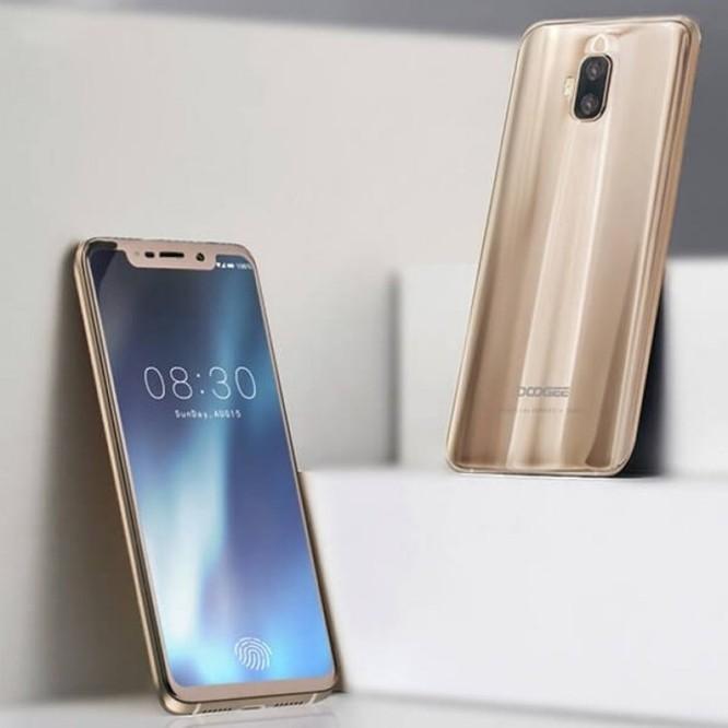 Doogee sắp ra smartphone có cảm biến vân tay trong màn hình tại MWC 2018 - Ảnh 1