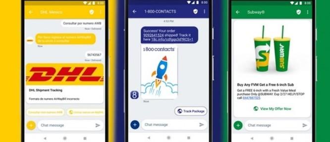 Google chính thức ra mắt dịch vụ RCS giúp doanh nghiệp tương tác với người dùng - Ảnh 1