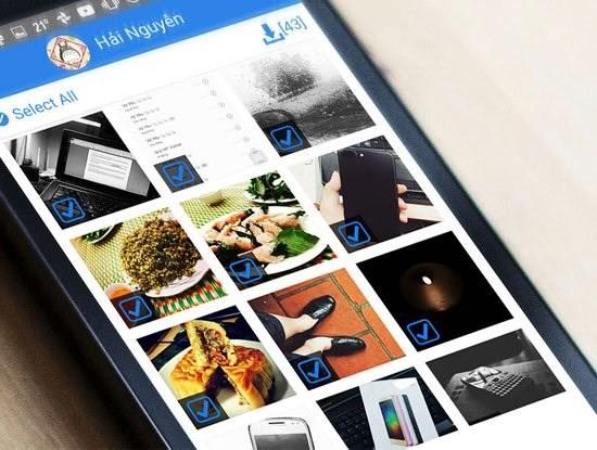 Hướng dẫn tải hàng loạt ảnh trên Facebook về điện thoại Android - Ảnh 1