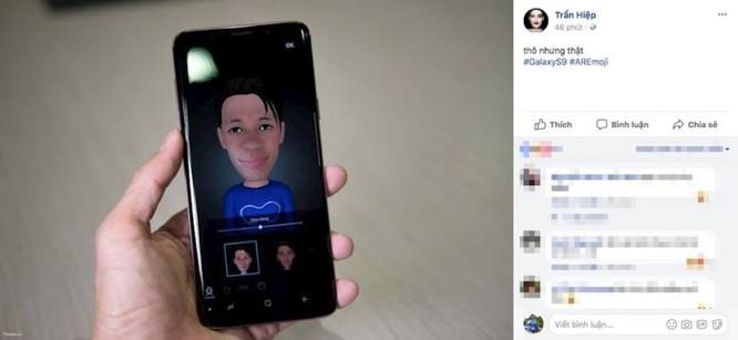 Phóng viên công nghệ Việt khoe hình ảnh AR Emoji từ Galaxy S9 - Ảnh 2