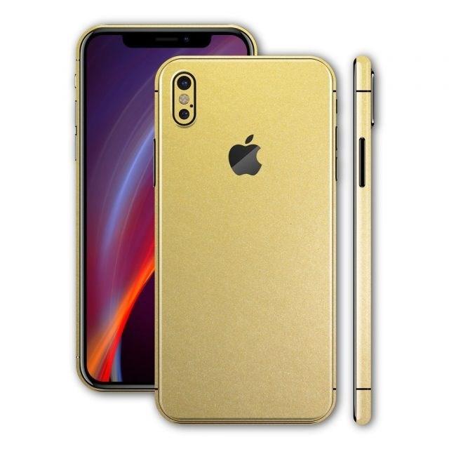 Rò rỉ hình ảnh iPhone X phiên bản màu vàng 'sang chảnh' - Ảnh 1