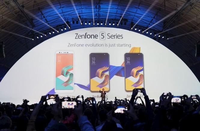 Thông tin chi tiết bộ ba smartphone ASUS ZenFone 5Z, ZenFone 5, ZenFone 5 Lite vừa ra mắt - Ảnh 1